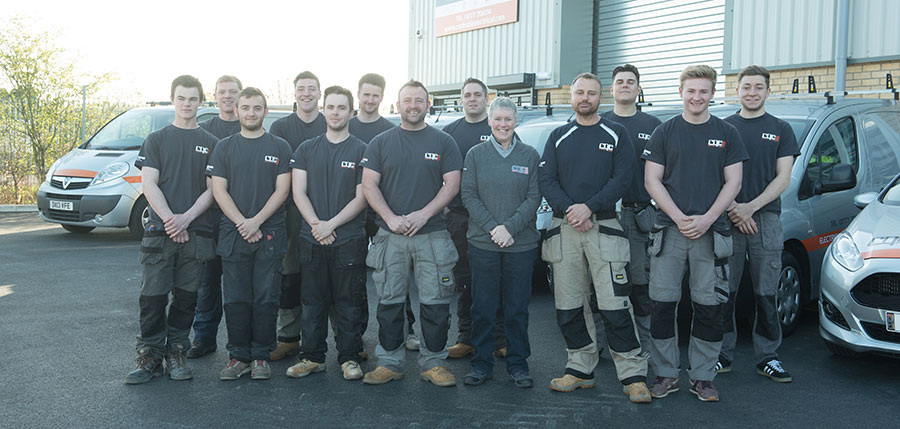 Carl Noble Electrical Ltd team