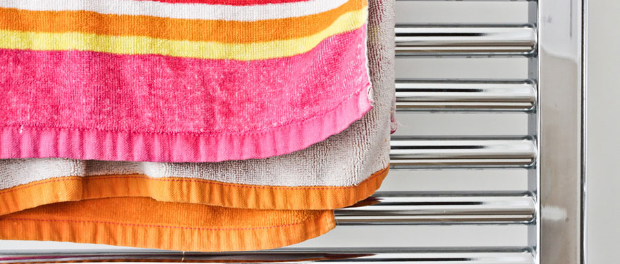 hand-towel-rail-installation